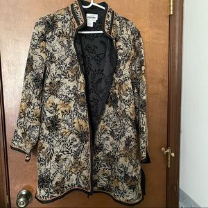 Coldwater Creek PXL Tapestry Tunic Jacket